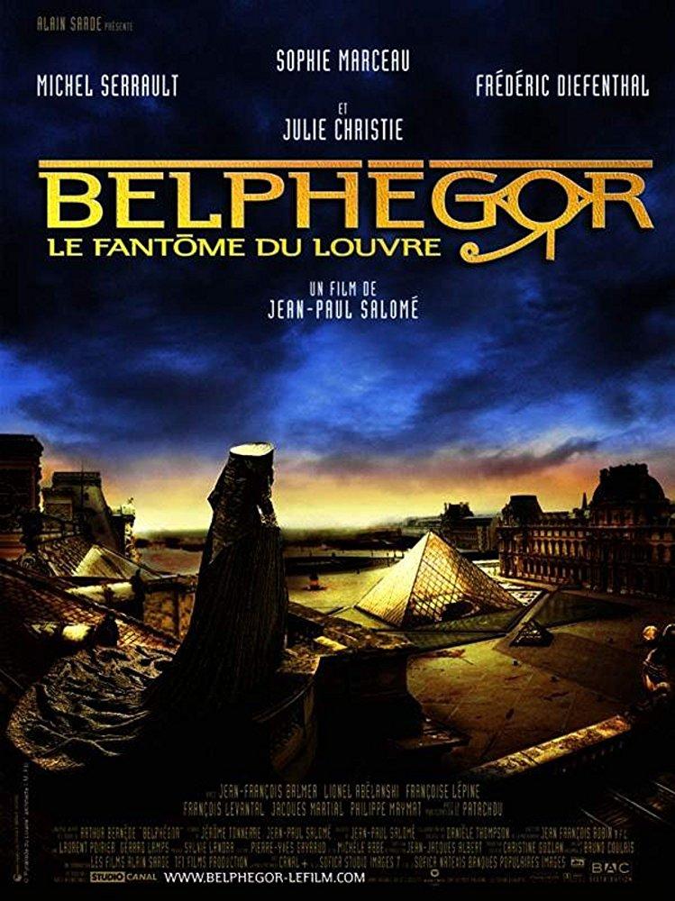 poster Belphegor - Le fantome du Louvre (2001)