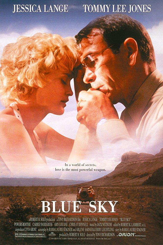 poster Blue Sky (1994)