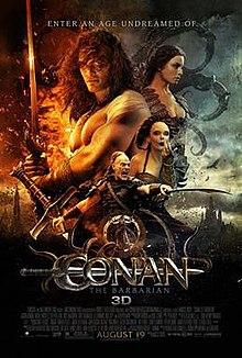poster Conan the Barbarian (2011)