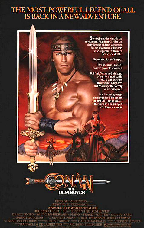 poster Conan the Destroyer (1984)