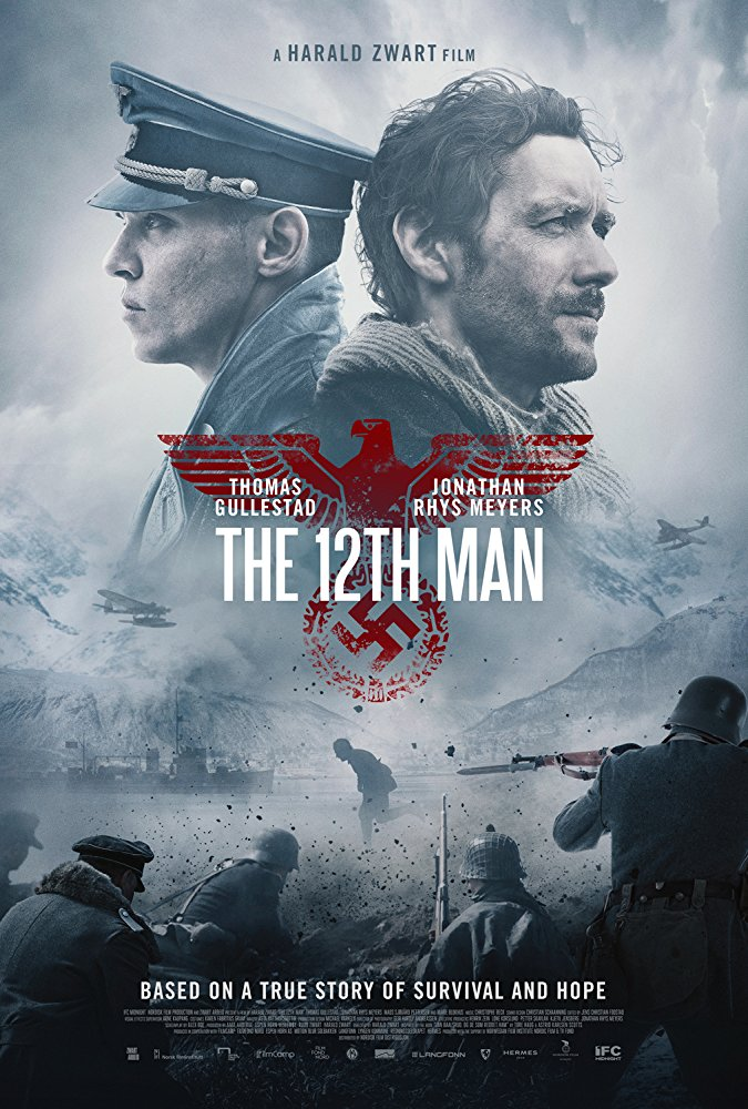 poster Den 12. mann - 12th Man (2017)