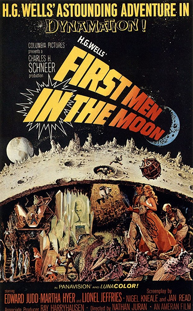 poster First Men in the Moon (1964)