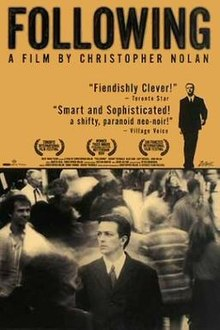 poster Following (1998)