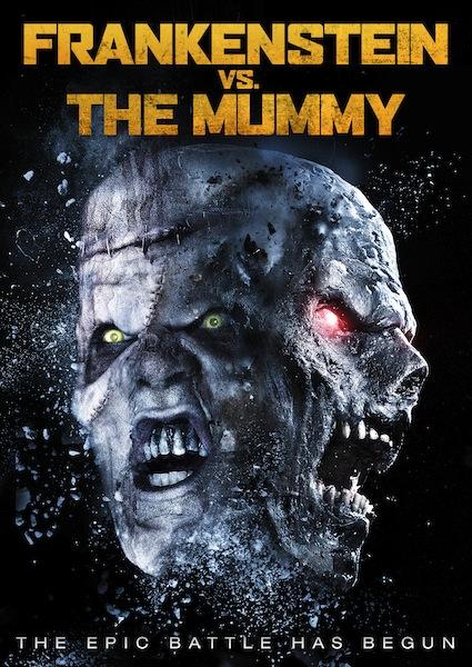 poster Frankenstein vs. The Mummy (2015)