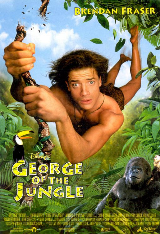 poster George of the Jungle (1997)
