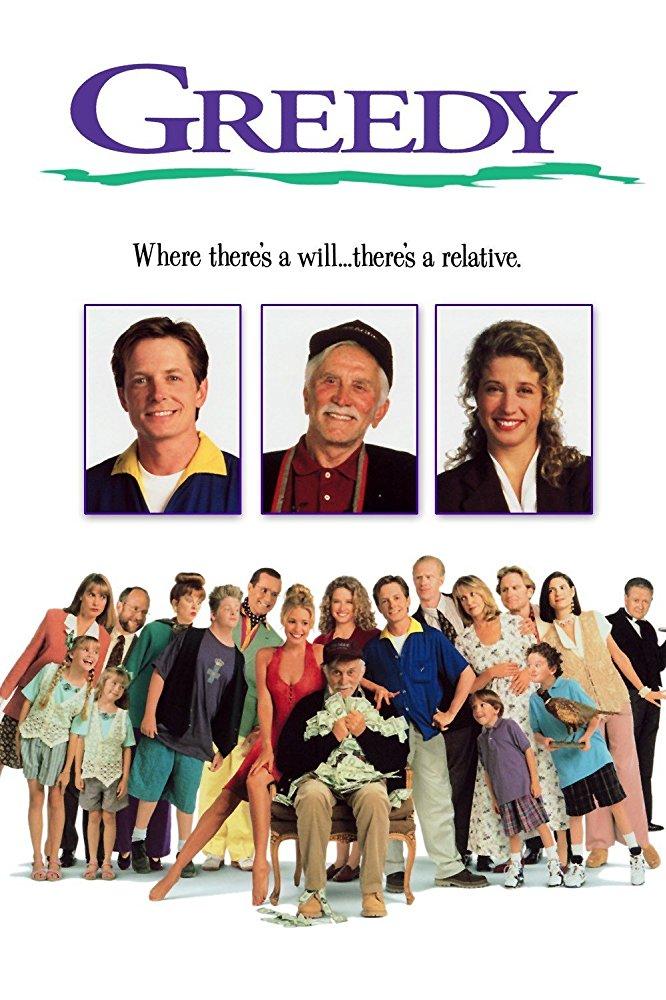 poster Greedy (1994)