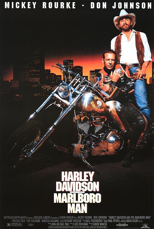 poster Harley Davidson and the Marlboro Man (1991)