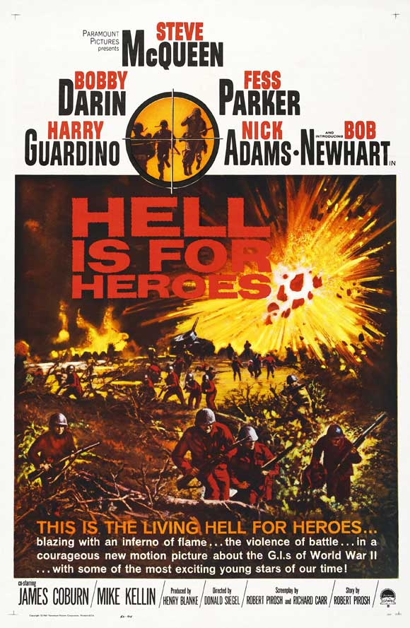 poster Hell Is for Heroes (1962)