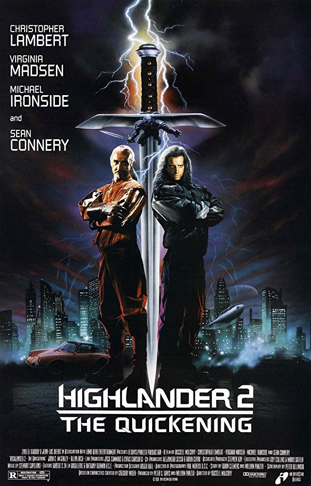 poster Highlander II The Quickening (1991)