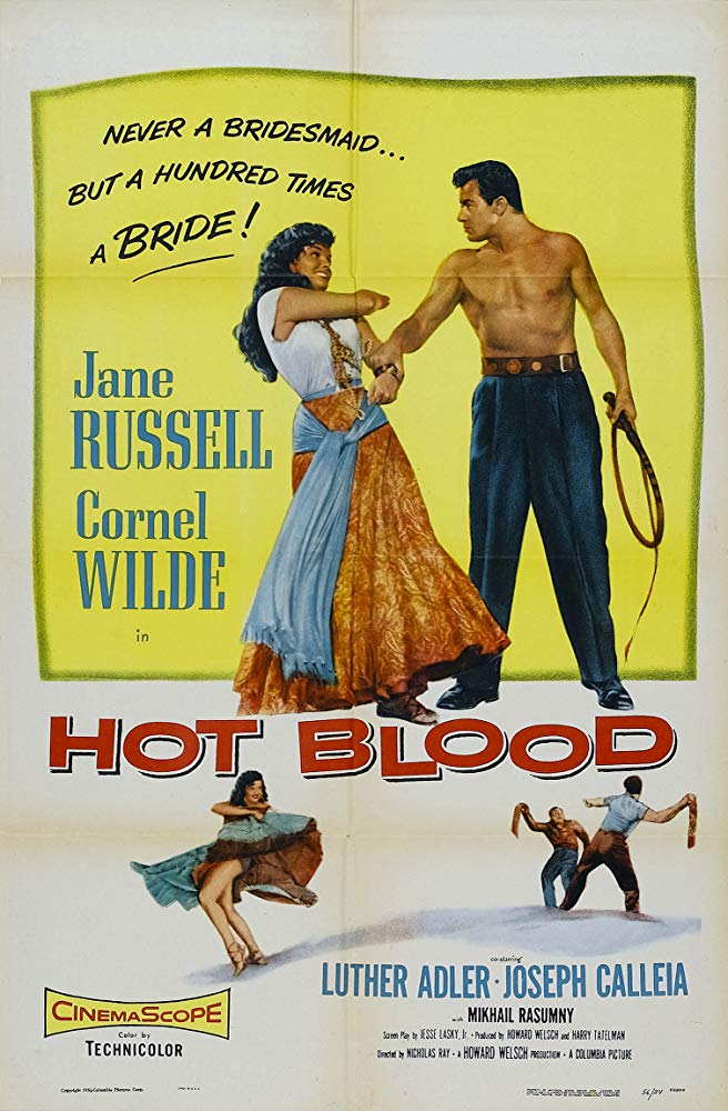 poster Hot Blood (1956)