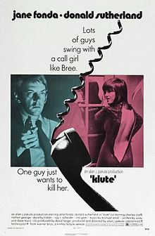 poster Klute (1971)
