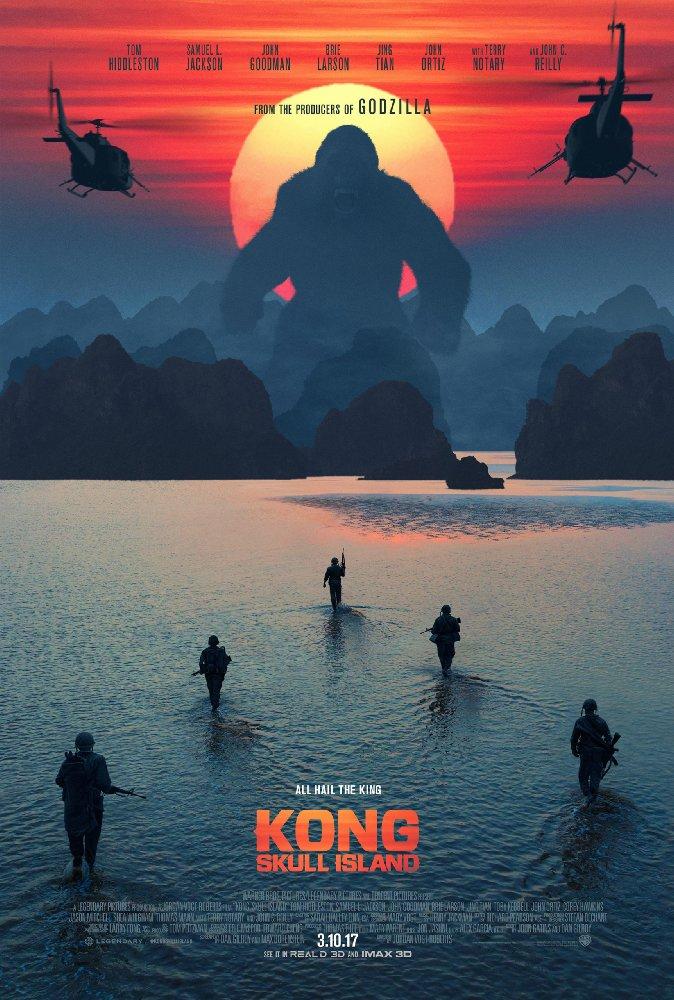 poster Kong Skull Island (2017)