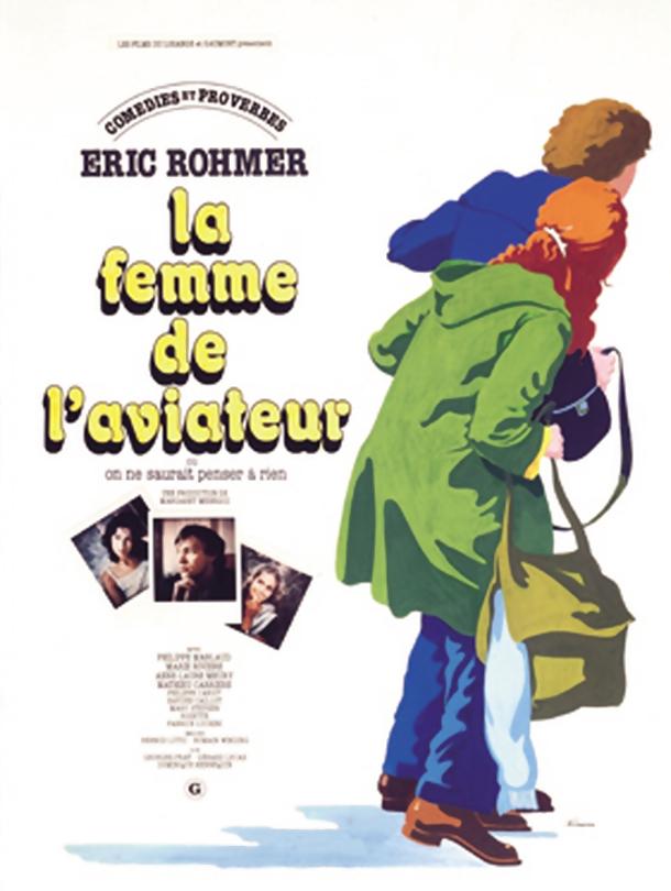 poster La Femme de l aviateur (1981)