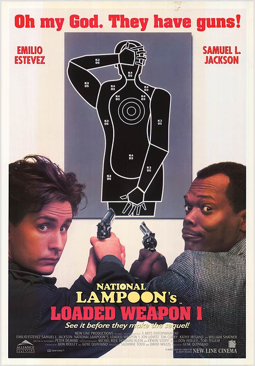 poster Loaded Weapon 1 (1993)