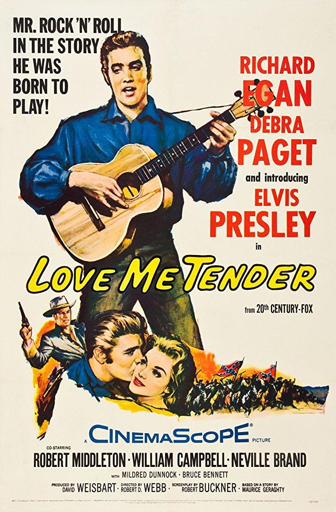 poster Love Me Tender (1956)