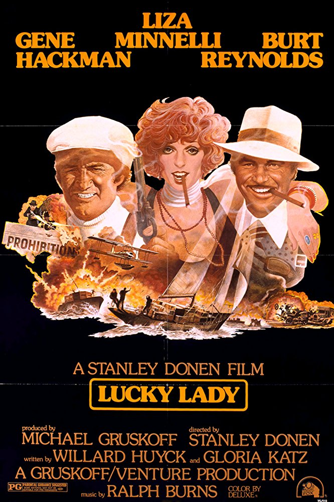 poster Lucky Lady (1975)