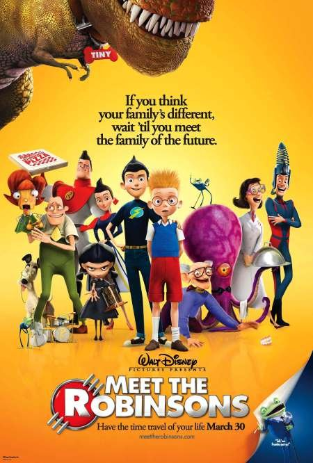 poster Meet the Robinsons (2007)