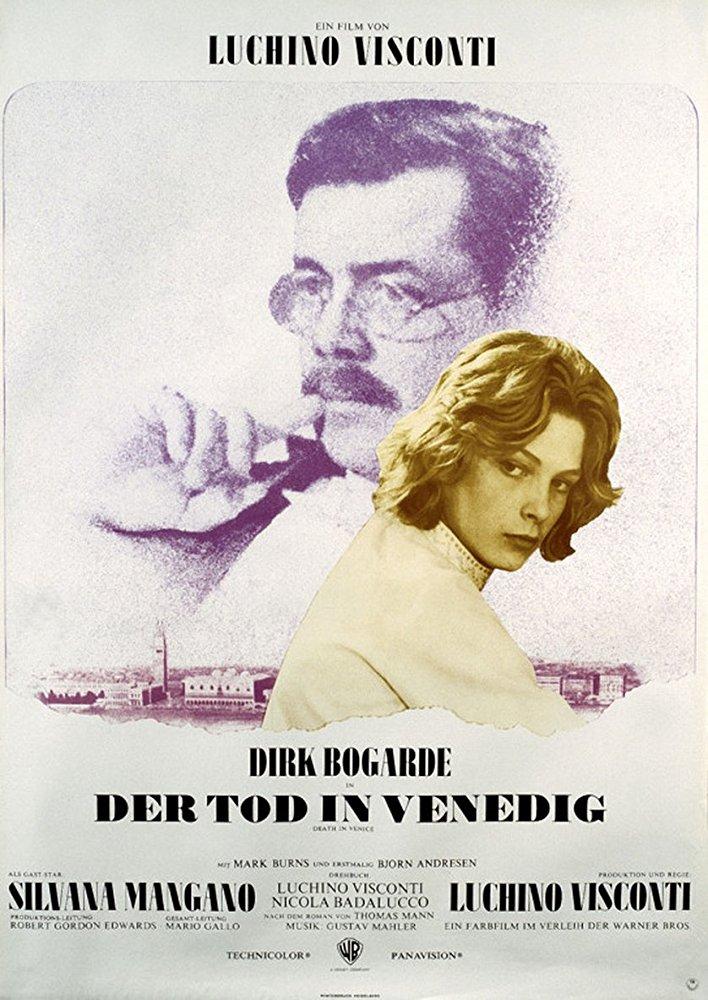 poster Morte a Venezia (1971)