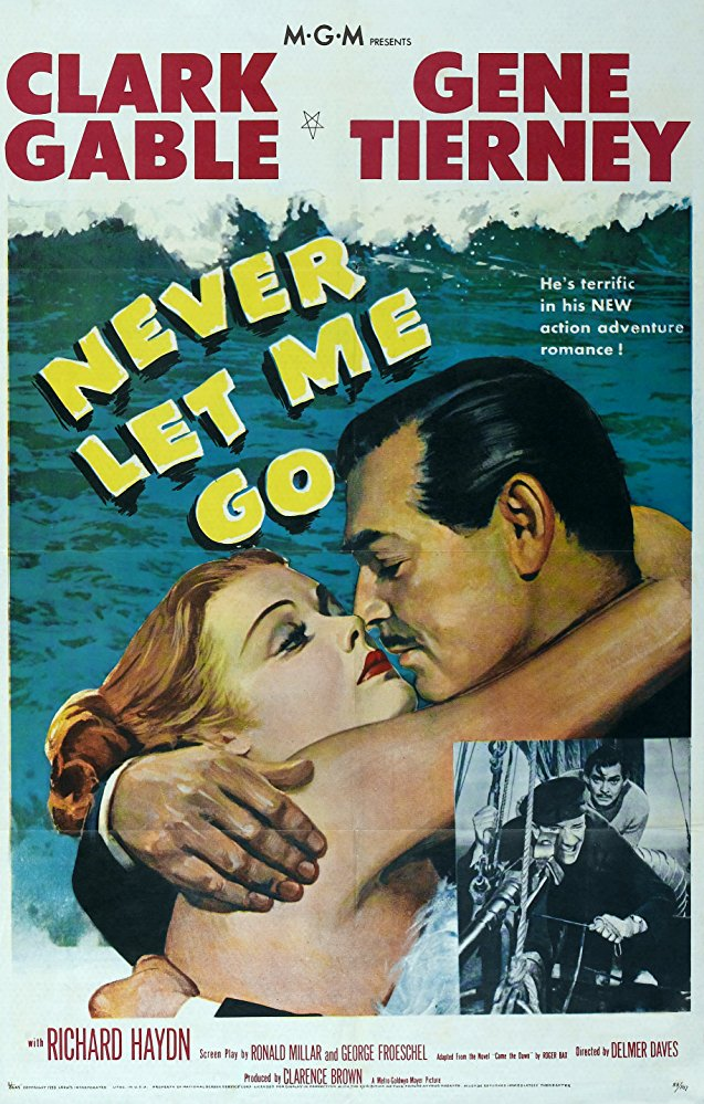 poster Never Let Me Go (1953)