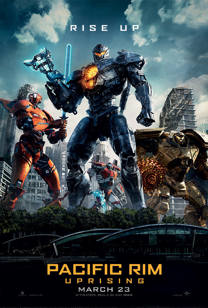 poster Pacific Rim Uprising (2018)