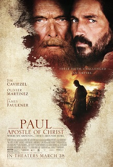 poster Paul, Apostle of Christ (2018)
