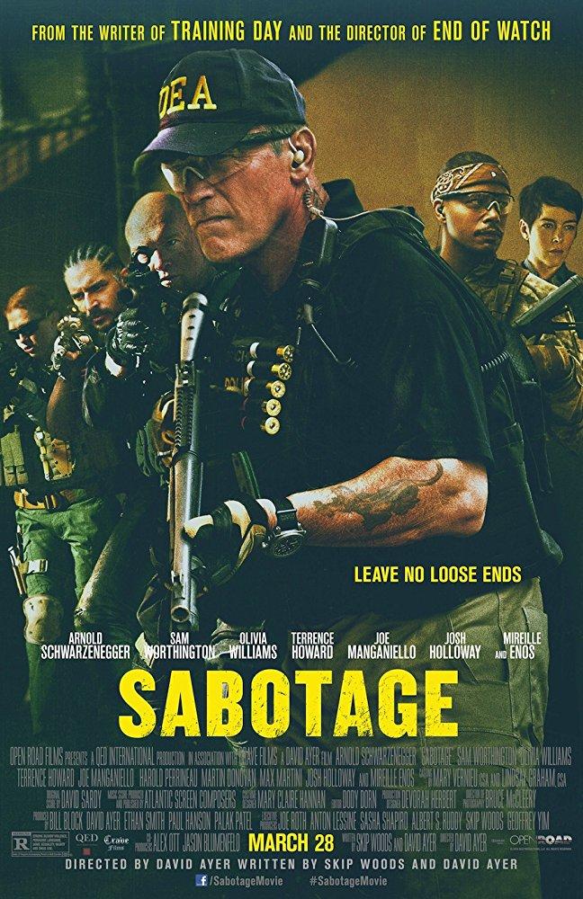 poster Sabotage (2014)
