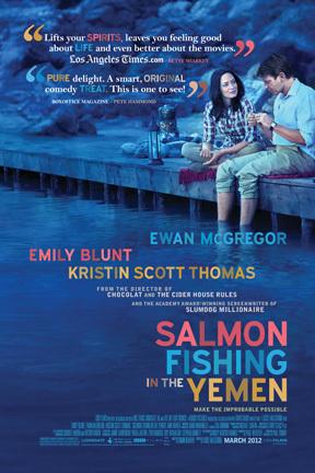 poster Salmon Fishing in the Yemen (2011)