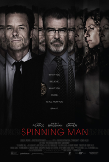 poster Spinning Man (2018)