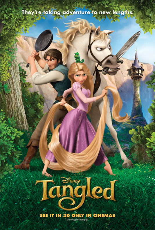 poster Tangled (2010)