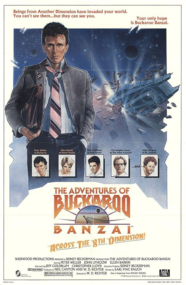 poster The Adventures of Buckaroo Banzai Across the 8th Dimension (1984)