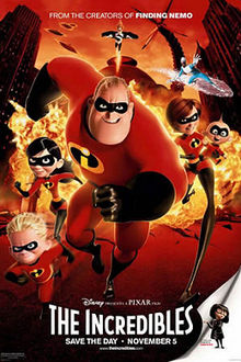 poster The Incredibles (2004)