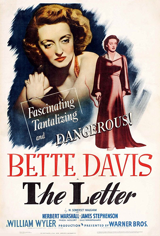 poster The Letter (1940)
