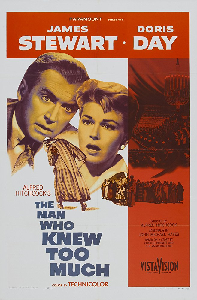 poster The Man Who Knew Too Much (1956)