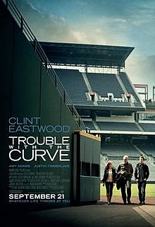 poster Trouble with the Curve (2012)