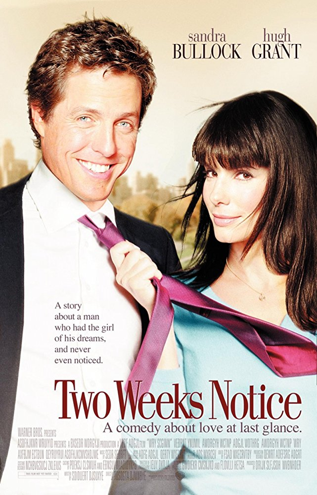 poster Two Weeks Notice (2002)