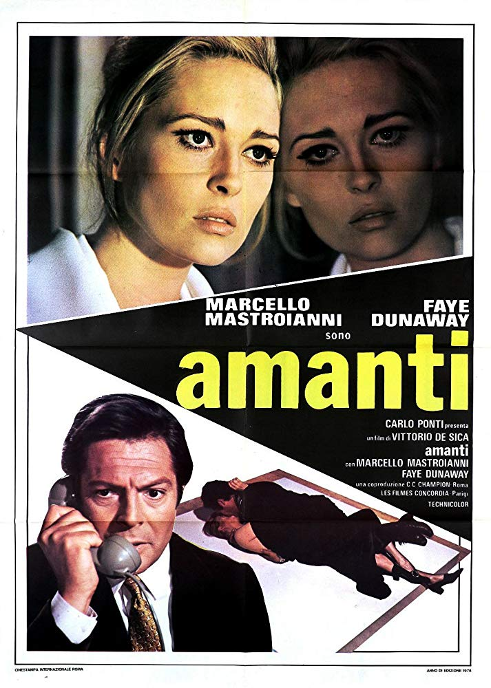 poster A Place for Lovers (Amanti) (1968)