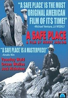 poster A Safe Place (1971)