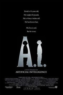 poster A.I. Artificial Intelligence (2001)