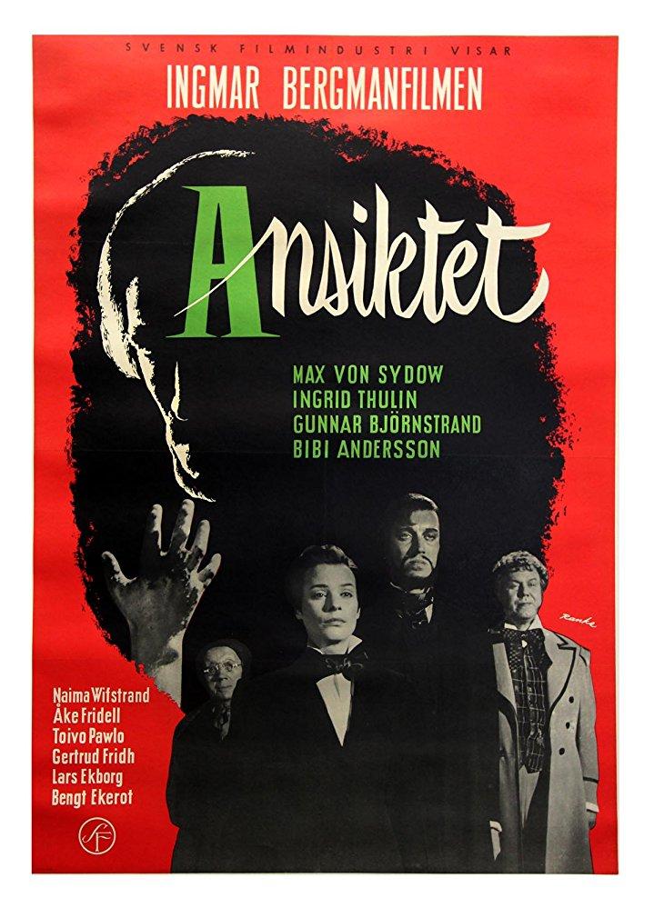 poster Ansiktet - The Magician (1958)