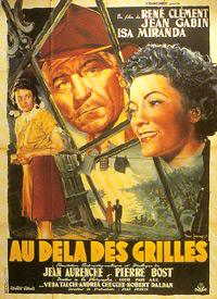 poster Au-dela des grilles - Le mura di Malapaga (1949)