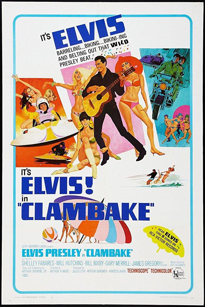 poster Clambake (1967)