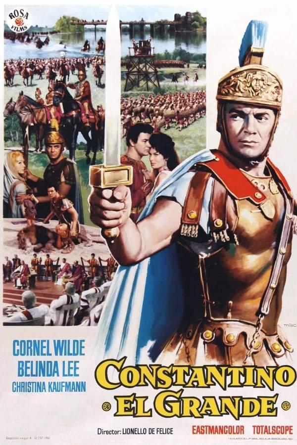 poster Constantino il Grande (1962)