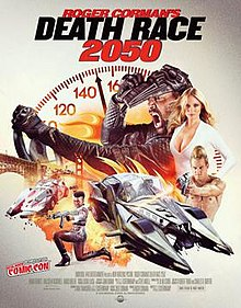 poster Death Race 2050 (Video 2017)