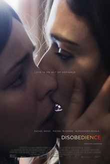 poster Disobedience (2017)