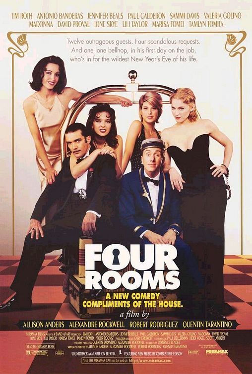 poster Four Rooms (1995)