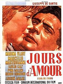 poster Giorni d'amore (1954)
