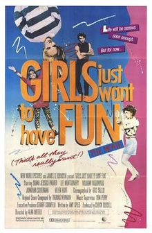 poster Girls Just Want To Have Fun (1985)