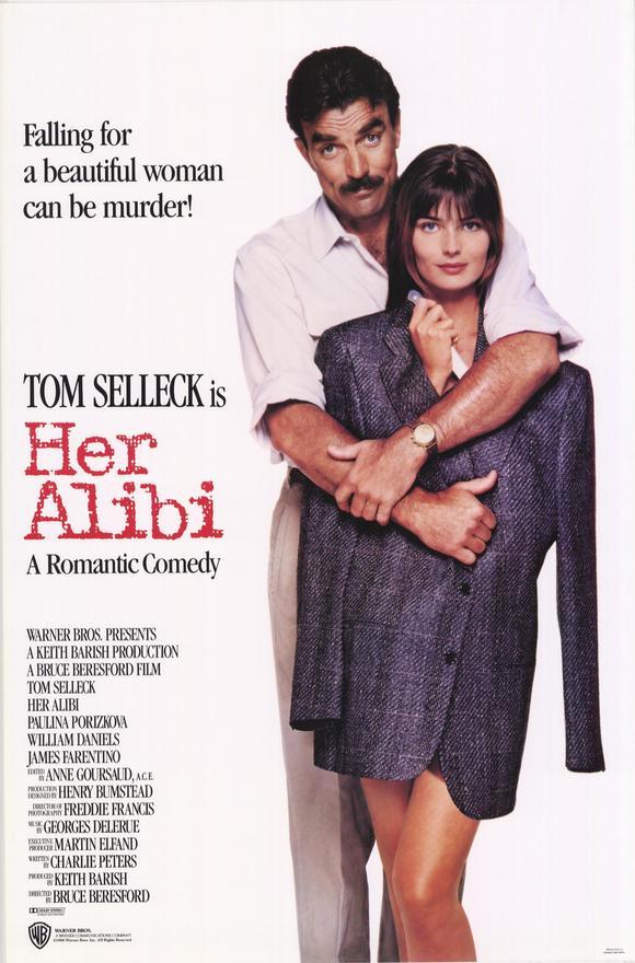 poster Her Alibi (1989)