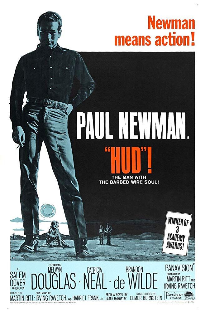 poster Hud (1963)