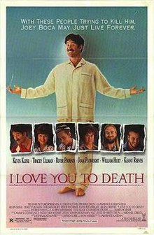 poster I Love You to Death (1990)